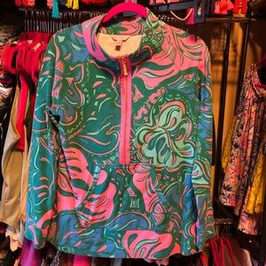 EUC Lilly Pulitzer Lilly Lounge skipper popover